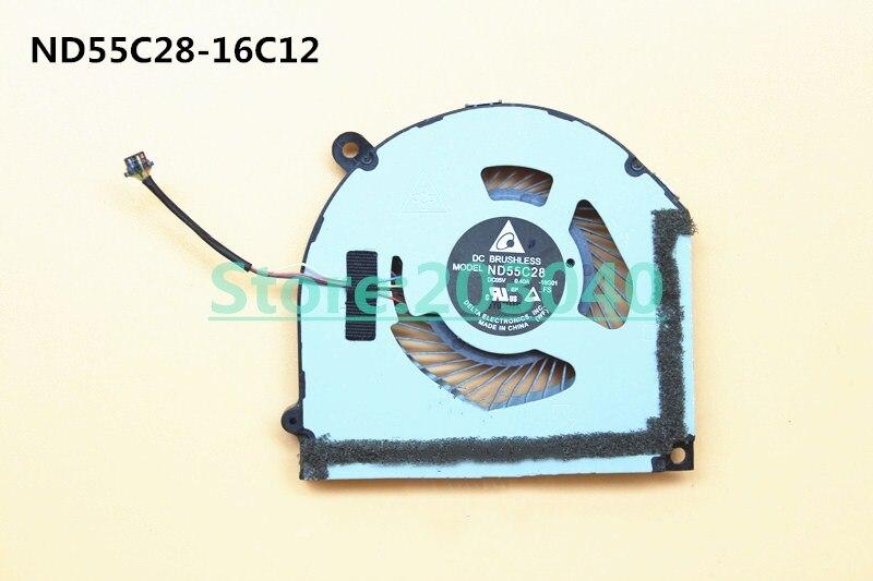 Ordinateur portable/ordinateur portable CPU ventilateur de refroidissement pour Lenovo ideapad MIIX 5 510 510-12ISK tablette PC ND55C28-16C12 FRU 55F10M13933