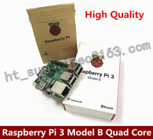 On sale Original Raspberry Pi 3 Model B 1GB LPDDR2 BCM2837 Quad-Core Ras PI3 B,PI 3B,3 B with WiFi&Bluetooth