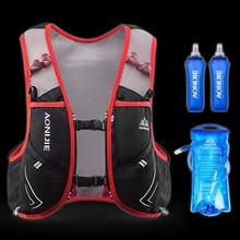 AONIJIE 5L Hydration Pack Backpack Lightweight Nylon Waterproof Deluxe Marathoner Running Race Vest for Men and Women