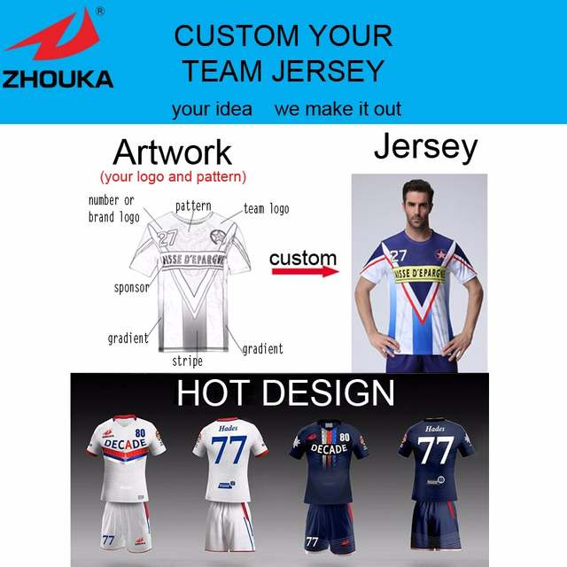 sublimated customize blank soccer jersey blazer football team uniform OEM  logos,name numbers camisas futebol Training suit