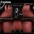 Custom fit car floor mats for Porsche Cayenne SUV 911 Cayman Macan Panamera 3D car styling carpet floor liner for all season