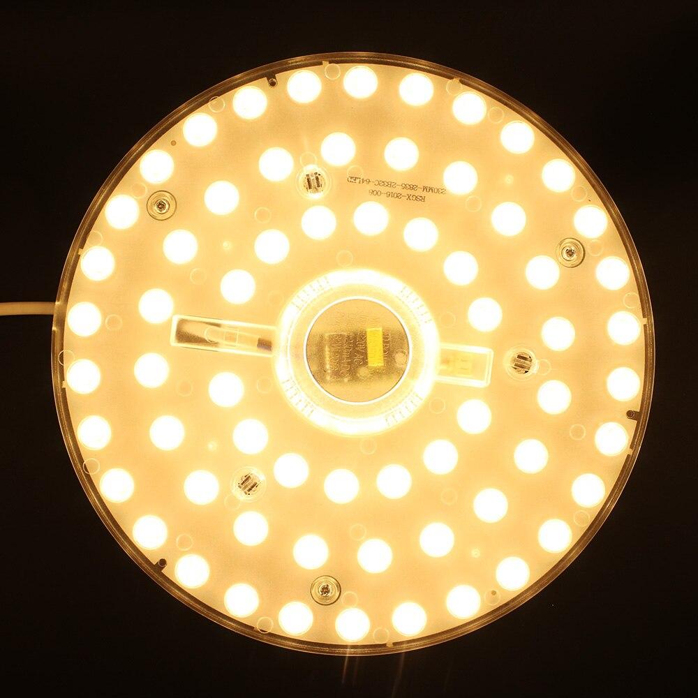 SXZM SMD2835 32 W LED Ad Alta luminosità modulo 64 pz AC220V LED lampada da soffitto illuminazione domestica per foyer, camera da letto facilità di installazione