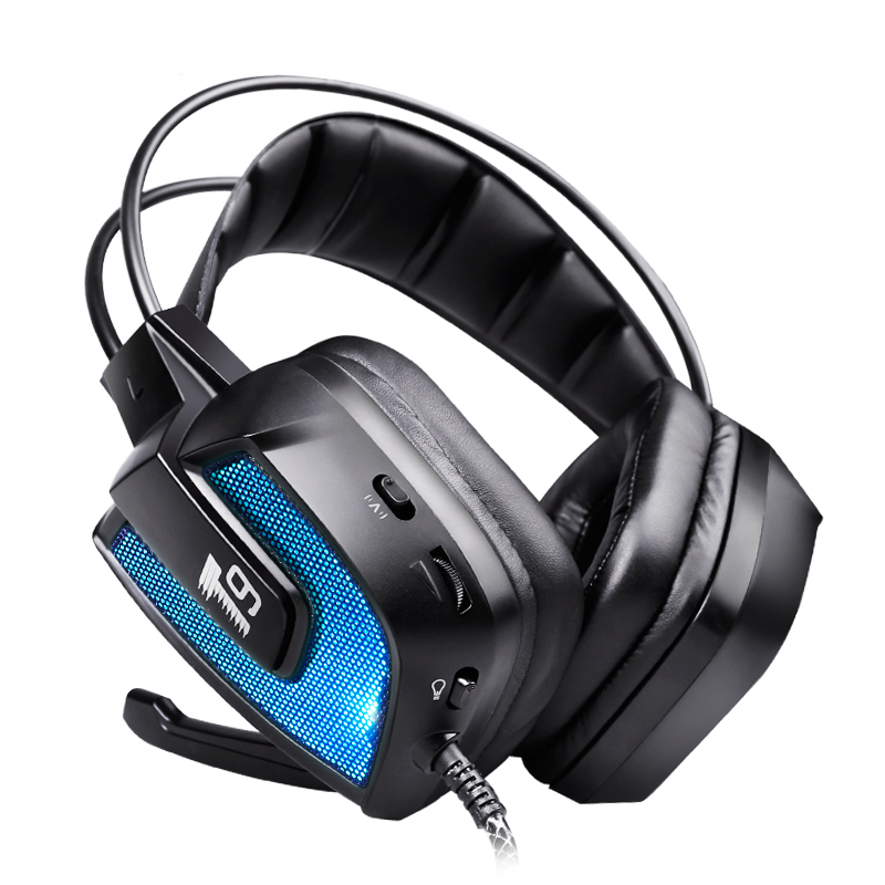 T9 Surround Sound Headphone Vibration Gaming Headset Earphone Headband For PC computer kotion each g2200 usb 7 1 surround sound headphone vibration computer gaming headset earphone headband with mic for pc lol game