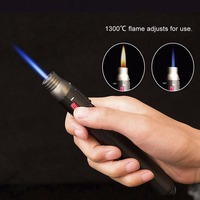 OUTAD Outdoor Lighter JET Torch Flame Pencil Butane Gas Refillable Fuel Welding Soldering 1300 Degree Pen