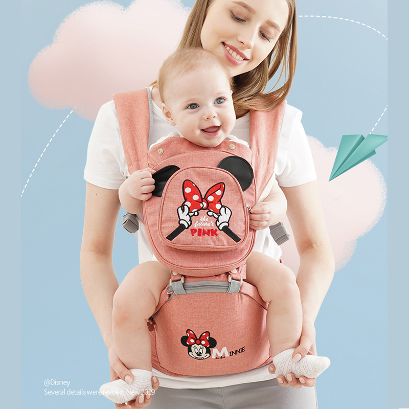 Breathable Ergonomic Carrier Backpack Portable Infant Baby Carrier Hipseat Heaps With Sucks Pad Baby Sling CarriersBreathable Ergonomic Carrier Backpack Portable Infant Baby Carrier Hipseat Heaps With Sucks Pad Baby Sling Carriers
