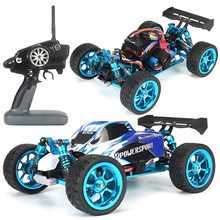 RC Car RTR WLtoys 1/18 a959-b metal brushless upgrade 3650 sensor 4300KV motor metal gear 60A ESC 5KG metal servo with P33 waterproof 3650 4300kv brushless motor 60a esc for 1 10 rc car truck durable high quality