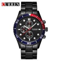 Hot Sports Brand Curren Watches Men Luxury Brand Analog Steel Case Men S Quartz Sports Watches