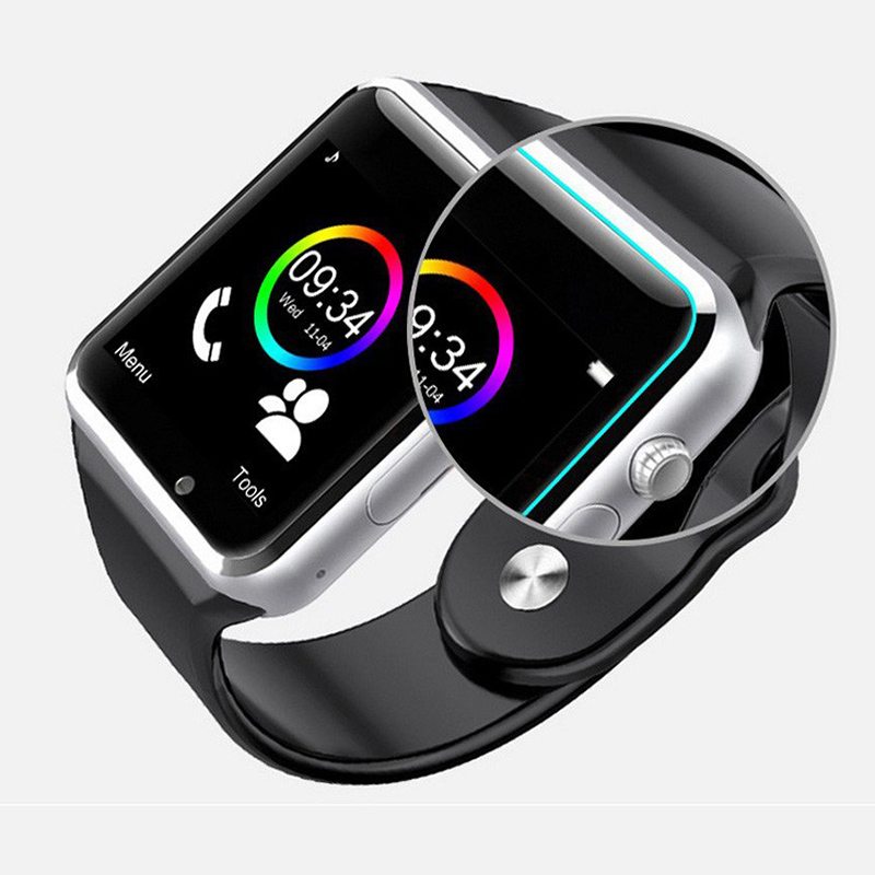 US $7 83 5% OFF|Bluetooth Smart Watch Sport Pedometer With SIM Camera  Smartwatch For Android Smartphone-in Smart Watches from Consumer  Electronics on