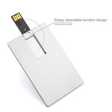 Factory directly selling ce fcc rohs plastic business gifts super thin 8gb 16 gb credit card usb