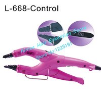 Free Shipping Purple Loof Hair Extension Fusion Iron L 668 Control Hair Extension Tool Kits Only