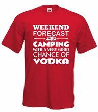 Caravan Vodka T-Shirt Funny  TShirt Weekend T Shirt Alcohol S-XXL NewT Shirts Tops Tee New Unisex free shipping