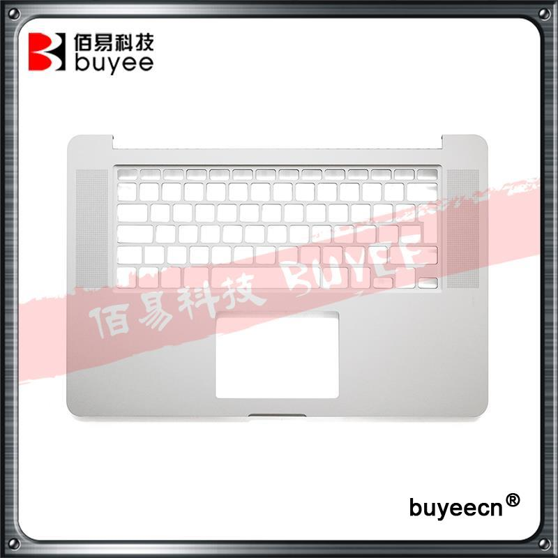 Original New Laptop A1398 Palmrest Topcase UK Layout 2015 Year For Macbook Pro Retina 15.4'' A1398 Top Case Cover Replacement original new laptop a1708 azerty layout fr keyboards for macbook retina pro 13 inch a1708 french keyboard 2016 year replacement