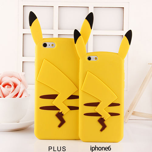 Pokemons Silicone Case for iPhone 7 6 6S 6 Plus 5s 5 4s 4