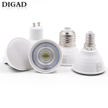 DIGAD 6pcs E27 E14 MR16 GU5.3 GU10 Lampada LED Bulb 6W 220V Bombillas Lamp Spotlight Lampara Spot Light led bulb lights for