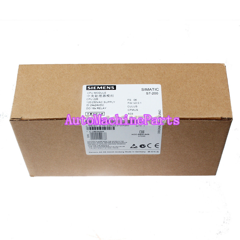 6ES7 216-2BD23-0XB0 6ES7216-2BD23-0XB0 For New Siemens PLC CPU Moudle CPU 226 стоимость