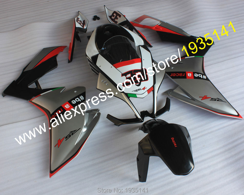 Hot Sales,For Aprilia Cowling RS4 125 2011 2012 2013 2014 2015 RS4 50 11-15 ABS Plastic Motorbike Fairing (Injection molding) кама rs 15 4 130