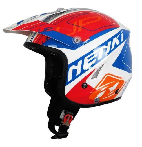 Acheter Livraison gratuite Motocross Casque Casque Tout Terrain Extrêmes Moto Pic Nenki 606 Casco Casque bb de Casques fiable fournisseurs