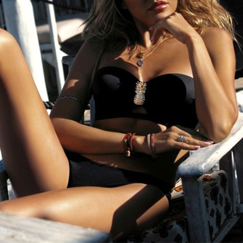 HTB1zjLtbinrK1Rjy1Xcq6yeDVXav Swimwear Women Sexy Bikini Set 2019 New Push Up Micro Swimsuit Female Bathers Bandage Bathing Suit Beach Bikini Two-Piece Suits