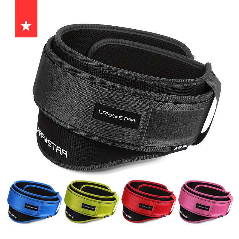 Weight Lifting Belt Squat Nylon EVA Back Support Gym Bodybuilding Squats Training Fitness Protector Belt