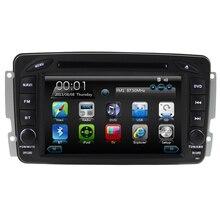 car dvd player with car gps raido bluetooth ipod for w203