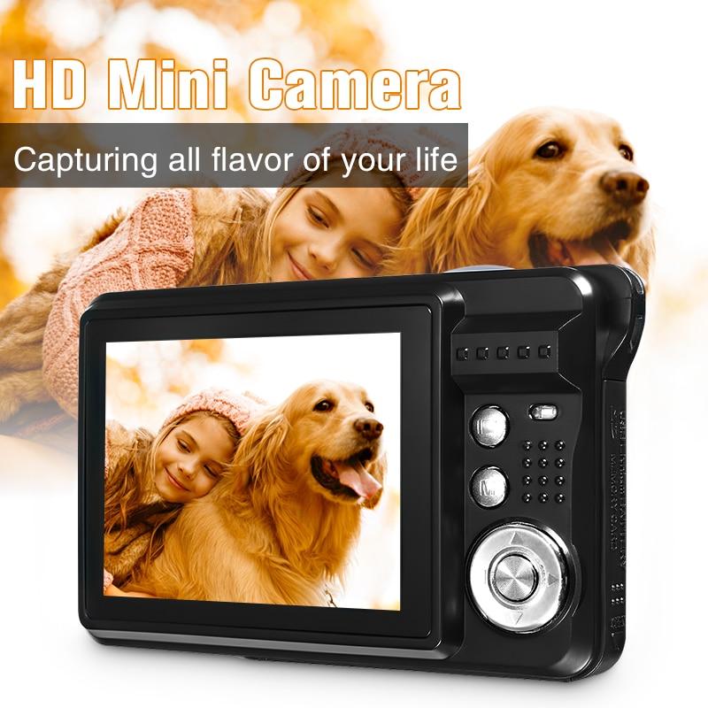 Детская портативная мини-камера 2,7 P 720 18MP 8x Zoom TFT lcd HD Цифровая камера видеокамера DV Anti-Shake фото для детей подарок