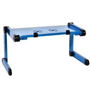 Image 2 - Mesa ajustable para ordenador portátil plegable, mesa ajustable para estudiantes, mesa de oficina para ordenador