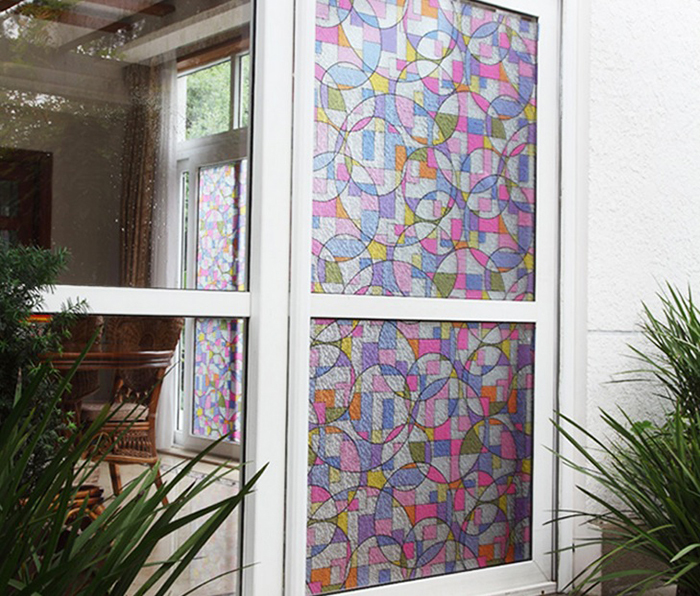Color Glass Window Clings PromotionShop for Promotional Color