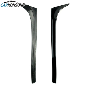 Image 5 - Carmonsons for Volkswagen Golf 7 MK7 Rear Wing Side Spoiler Stickers Trim Cover Accessories Car Styling