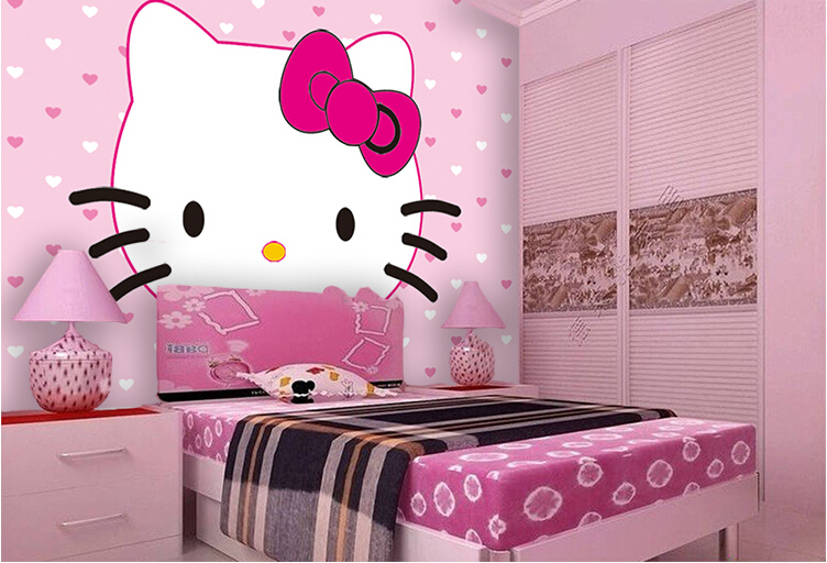 Hello Kitty Wallpaper For Bedroom Rowbook