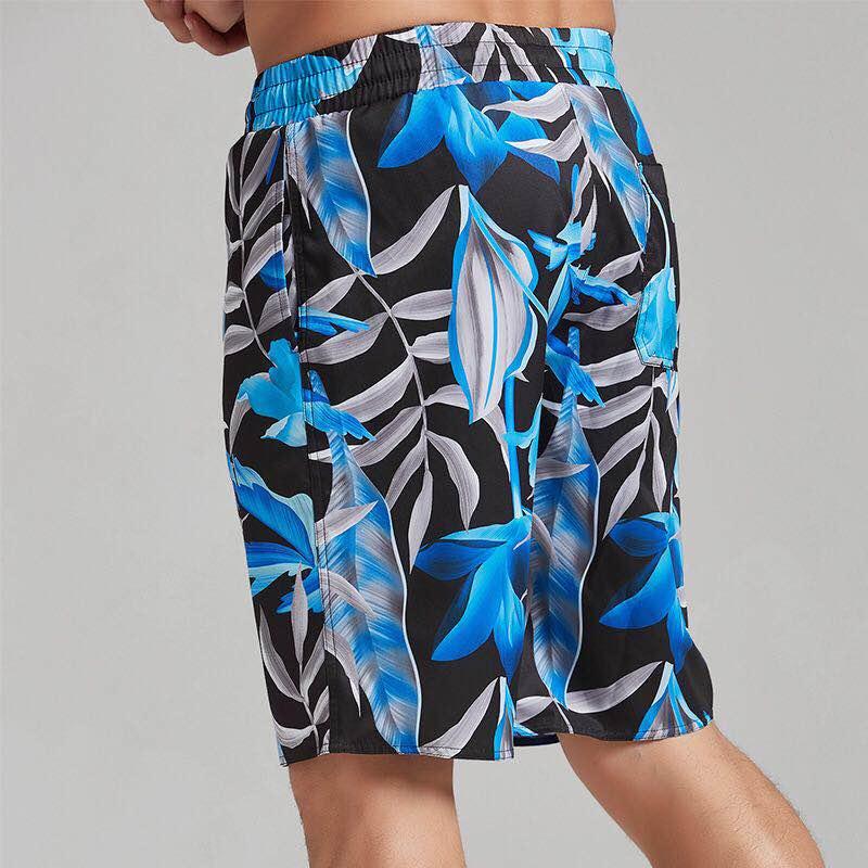 Sbart Beach-Shorts Swimming Surfing UV Men Sunscreen Bunch Dive-Colour Loose Comfortable