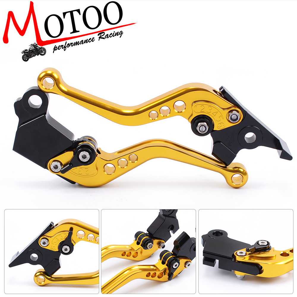 Motoo - F-16 D-37  Motorcycle Brake Clutch Levers For MOTO GUZZI BREVA 750 2004-2009 V7 Racer 11-17 V7 Classic/Stornello  08-17 fxcnc aluminum adjustable moto motorcycle brake clutch levers for moto guzzi breva 1100	2006 2012 07 08 09 10 11 motorbike brake