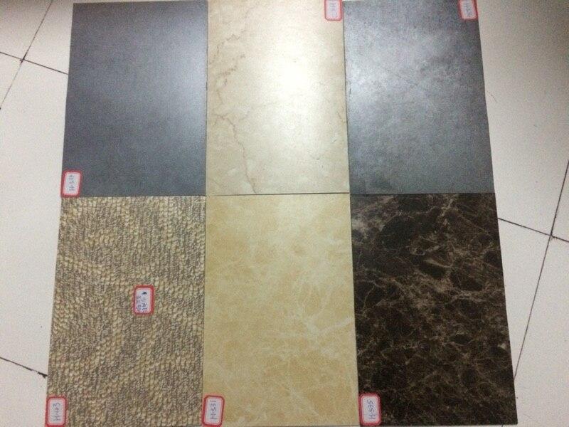 Hohe Qualität selbstklebende Stein korn pvc bodenbelag kunststoff boden fliesen wasserdichte tapete 5 Quadratmetern (1 pack 25 stück) - 3