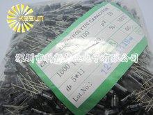 1000 шт. X 100% Новое Chengx 100 МКФ 10 В 5X11 Алюминиевый Электролитический Конденсатор Разъем