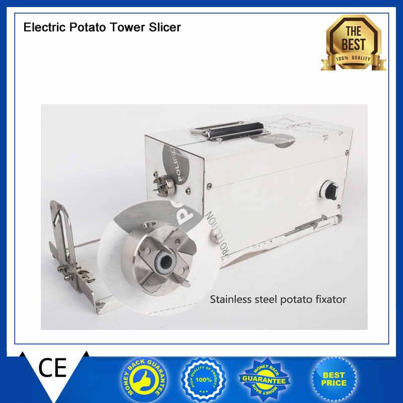 Elektrische Aardappel Twister Tornado Snijmachine Machine Automatische Spiraal Cutter groentesnijder twister machine leverancier 110/220 v
