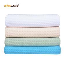 Microfiber Waffle Weave Kitchen Towels Dish Drying Fast Ultra Abersorbent Cloths 16x16 4Pcs Assorted Colors