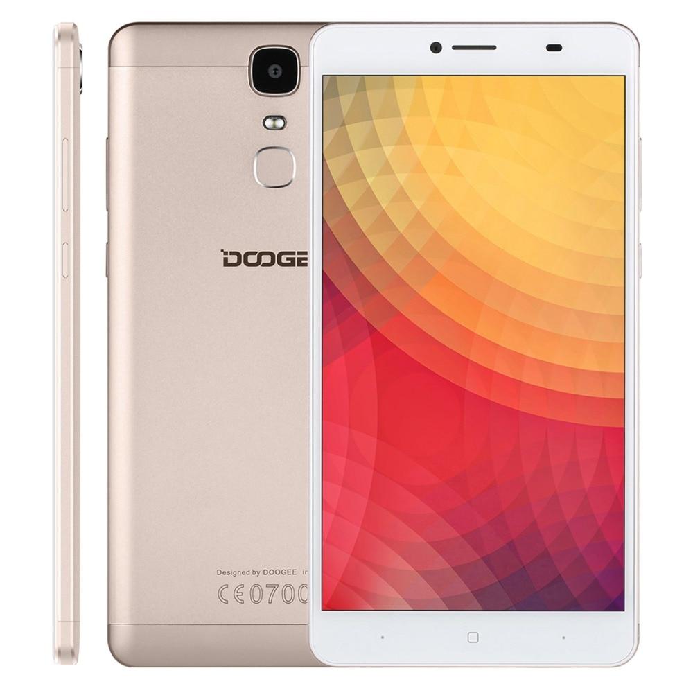 Y6 doogee max huella digital del teléfono móvil 4300 mah 6.5 pulgadas fhd mtk675