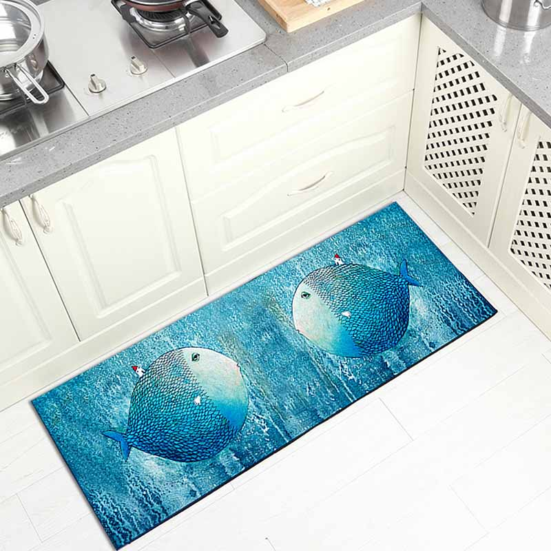 Washable Kitchen Mats with Anti Slip Bottom for Kitchen and Hallway Entrance Floor 28