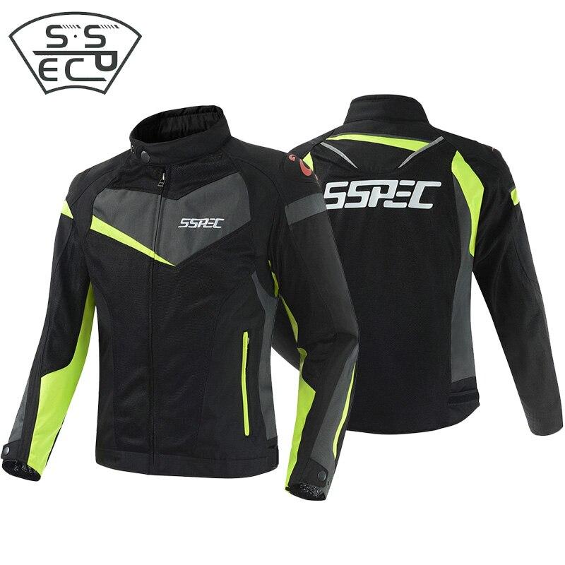 SSPEC vestes de Moto armure de protection veste de Moto Motocross veste de course tout-terrain Moto fation Jaqueta vêtements
