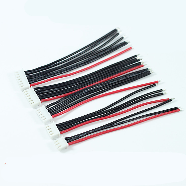 10CM 2S1P 3S1P 4S1P 5S1P 6S1P 7S1P 8S1P 9S1P 10S1P Balance Charger Cable 22 AWG Silicon Wire JST XH Plug plaid faux suede sheath dress