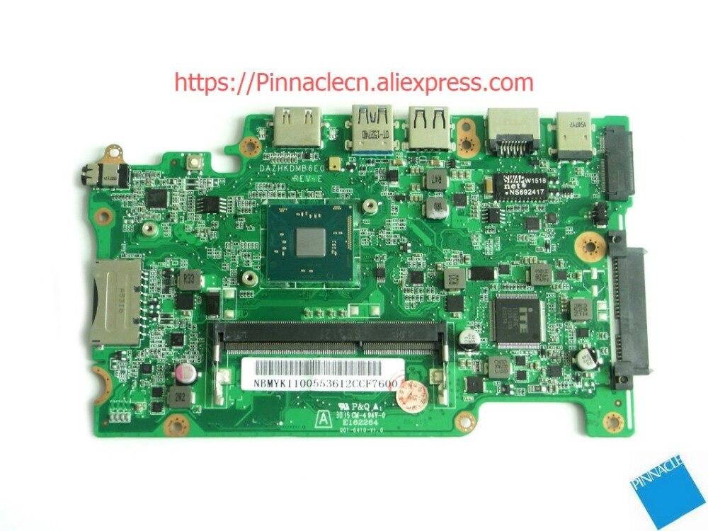 Motherboard para Acer Aspire Travelmate B116-m B116-mp Dazhkdmb6e0 Zhkd Nbmyk11005 N3700 Es1-131