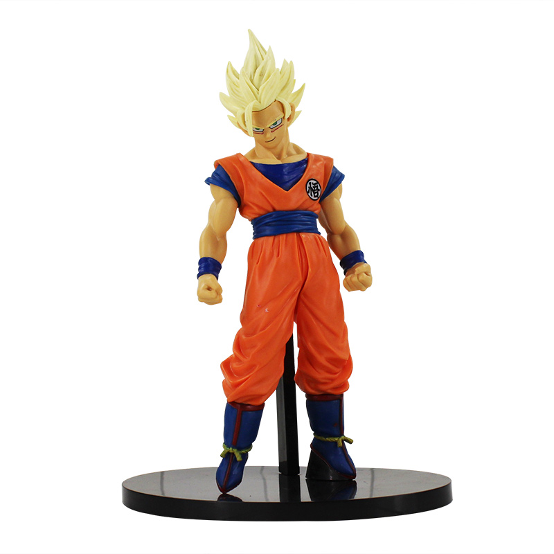 Banpresto Dragon Ball Scultures Son Goku Super Saiyan 2 Big Budokai 6 vol2 17 cm
