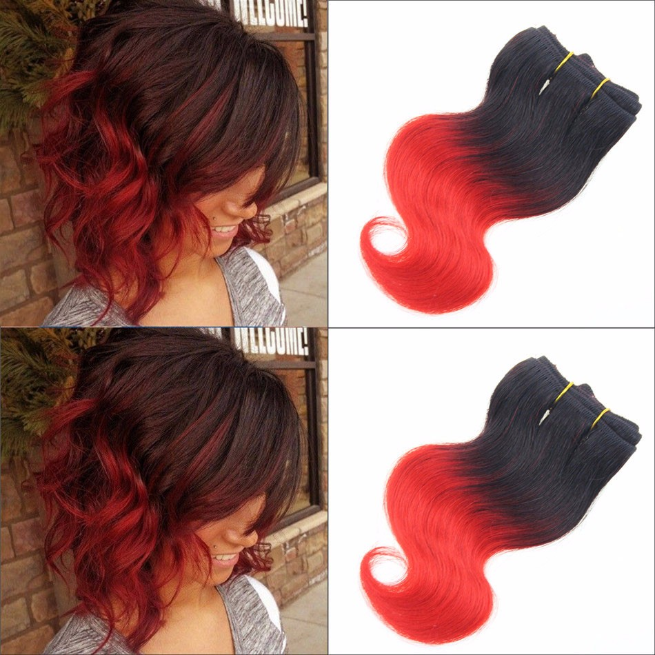 2016-Trendy-Bob-Short-Hairstyles-4Pcs-200g-8inch-Brazilian-Virgin-Hair-Body-Wave-Ombre-Hair-Extensions-(4)