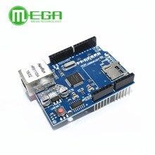 1 Uds Shield UNO Ethernet Shield W5100 R3 UNO Mega 2560 de 1280 de 328 de la UNR R3 sólo W5100 Placa de desarrollo
