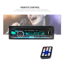 12V 1 DIN In-Dash Car Stereo FM Radio MP3 Audio Player Bluetooth 7 Color Light Hands-free Calls Aux Input SD USB MP3 Car Radios yatour car radio bluetooth music streaming mp3 phone call hands free decorder for ford 12 pin radios