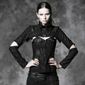 punk gothic printed tops with two pieces punk rave new style made in china Y-484