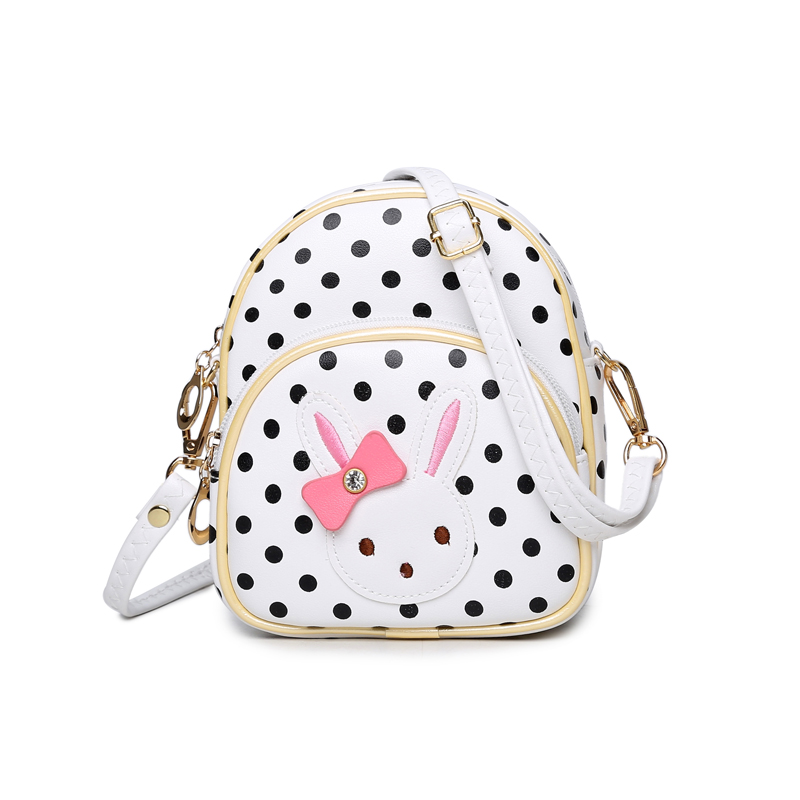 451786c52b9d Detail Feedback Questions about Mini Small Backpacks for Teenage Girls  Bunny Women Cute Backpack Leather Polka Dot Bow Mochila Pink Mochila  Feminina Rabbit ...