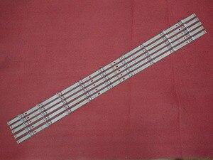 Image 3 - 5 סט = 50 PCS LED backlgith רצועת עבור LG 49LB5500 49LB620V 49lb6200 49lf5100 49LB5520 49LB550V 6916L 1788A 1789A 1944A 1945A