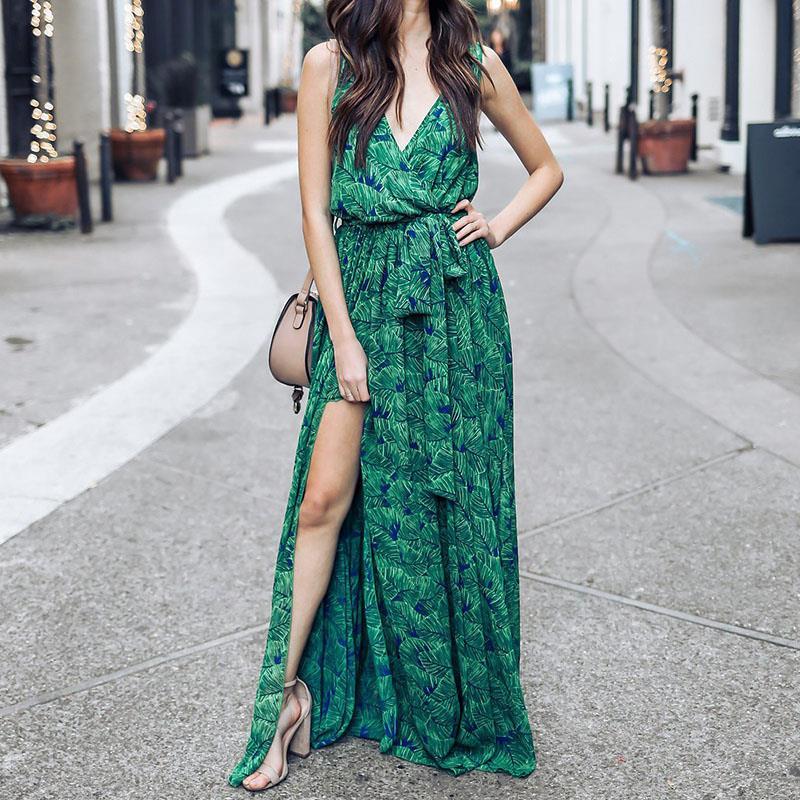 Vintage Summer Maxi font b Dress b font font b Women b font font b Floral