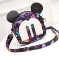 2016 новая мода сумки PU мини сумка мультипликационный персонаж Микки дикий Плеча пакет zs441