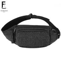 FRN Fanny Pack Waterproof Money Belt Bag Men Purse Teenager's Travel Wallet Belt Male Waist Bags Women Cigarette Case for Phone